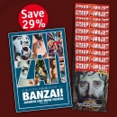 Offer #6 BANZAI! JAPANESE CULT MOVIE POSTERS + 10 back-issues of CREEPY*IMAGES